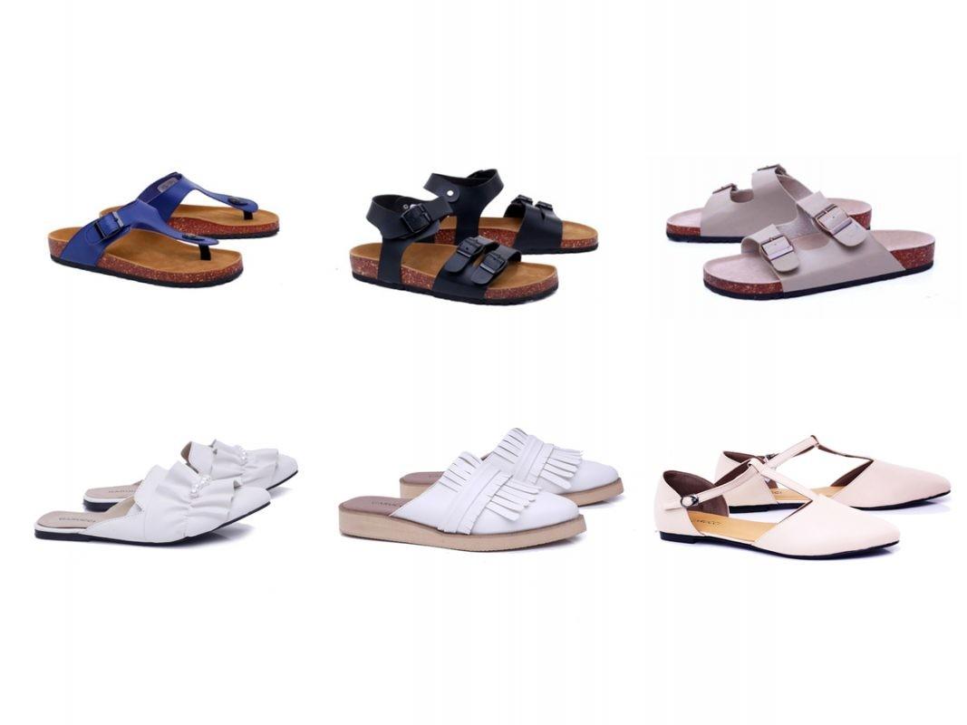 , Untuk Kamu Pecinta Sandal Casual, Garsel Shoes & Fashion